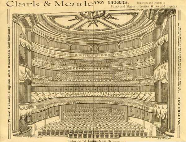 Que la fete commence seating plan of the french opera house for Balcony unreserved